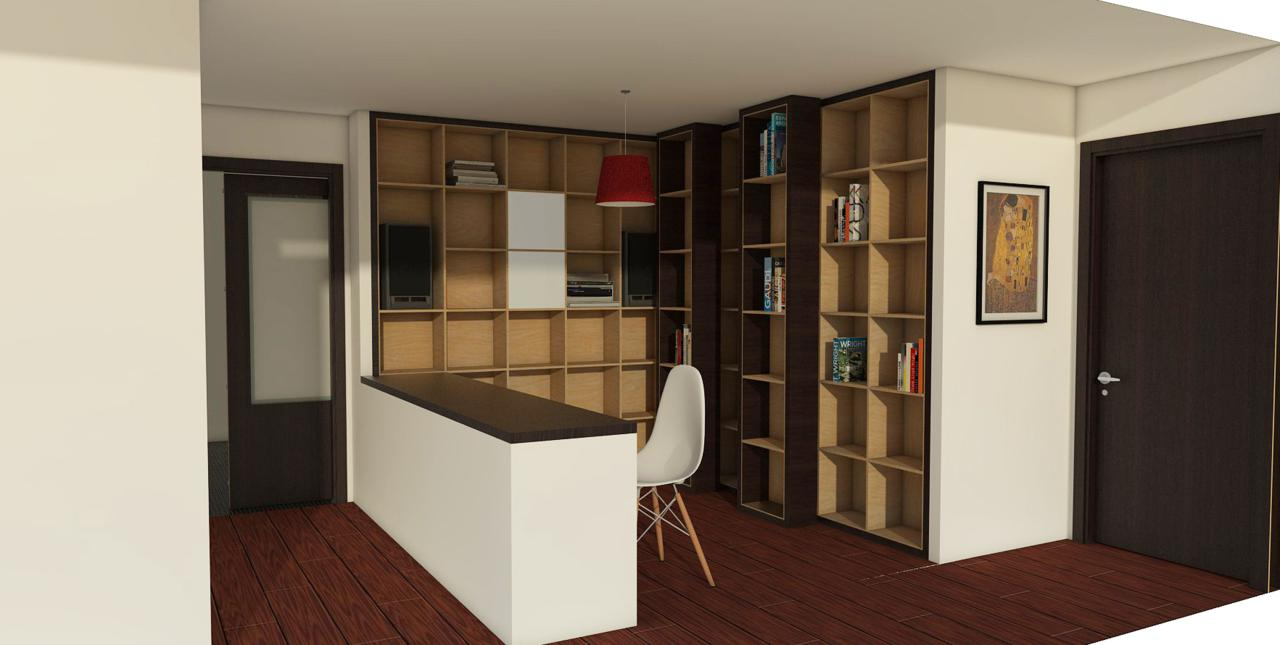 Presentación de Interior en 3d