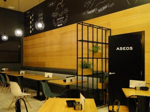 Reforma interior cafetería_Avenida Tarrío_Fene_Imagen interior banco