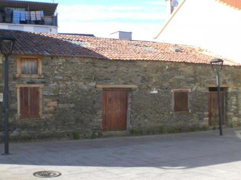 Rehabilitación Pedrafeita_Museo Salazón_Santa Barbara_Ares_Fachada principal