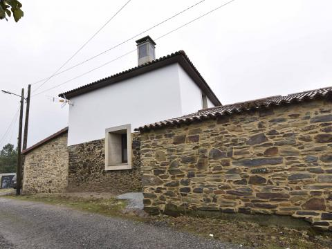 fachada piedra blanco moderno antiguo