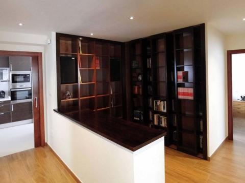 Reforma interior vivienda_Castelao 2_Mugardos_Imagen biblioteca