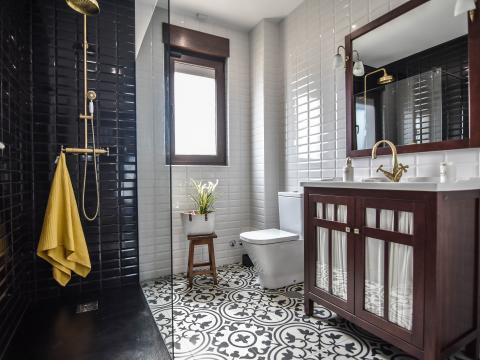 baño aseoinodoro lavabo azulejos gres baldosa hidraulica
