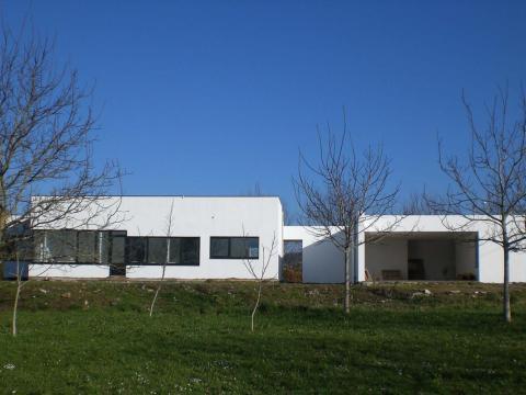 Construción vivienda_Obra nueva_O Seixo_Mugardos_Fachada principal