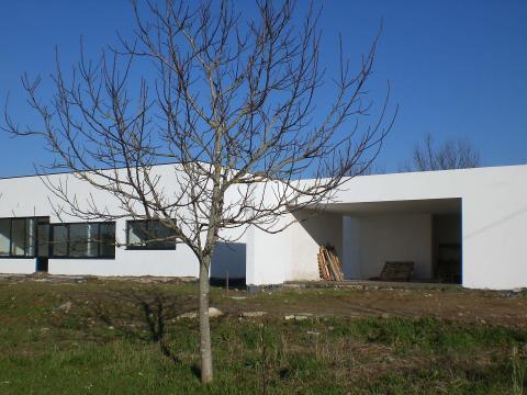 Construción vivienda_Obra nueva_O Seixo_Mugardos_Detalle garage
