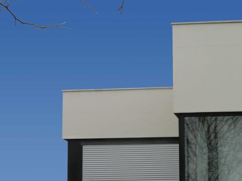 Construción vivienda_Obra nueva_O Seixo_Mugardos_Detalle fachada