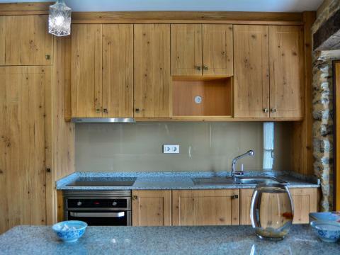 madera cocina vidrio templado electrodomesticos pecera ronald