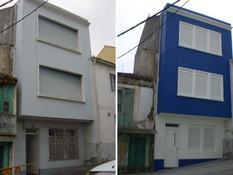 Vivienda San Telmo 5_Rehabilitación_Mugardos_Imagen fachada